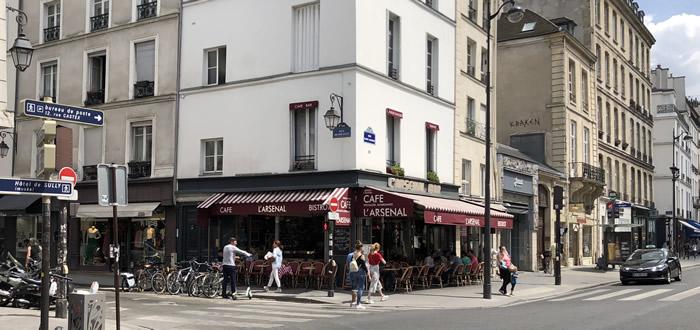 パリのおすすめビストロ マレ地区 ラルセナル L'Asenal