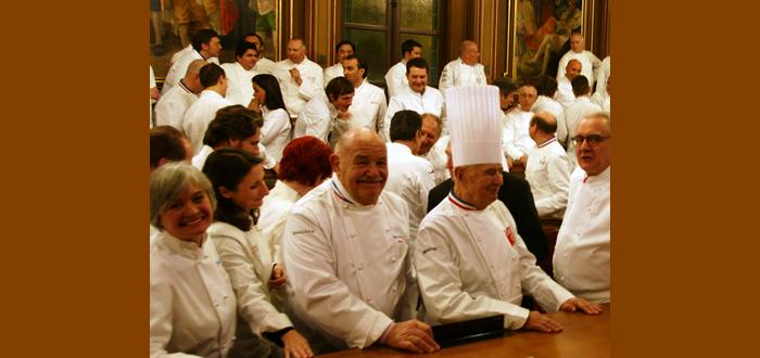 フランス料理の巨匠 ピエール・トロワグロ氏